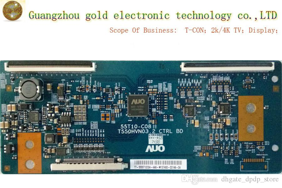 Original AUO logic board T550HVN03.2 55T10-C08 T-CON board CTRL board Flat TV Parts LCD LED TV Parts