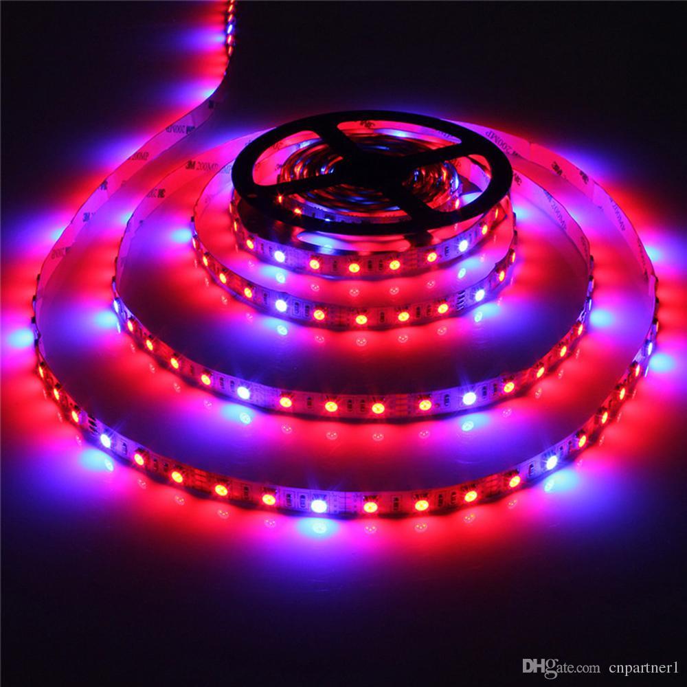 Macabolo Pflanze wachsen LED Streifen Licht wasserdicht 5050 SMD Flexible LED String Licht Pflanze Wachstum Lichter f/ür Gew/ächshaus