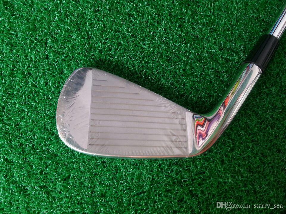Top quality golf clubs MP63 golf irons set with Shaft and Snowflake Grips free shipping by DHL