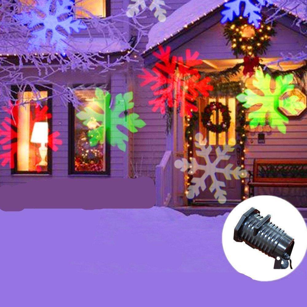 Christmas Projection Lights.2019 New Pattern Lens Christmas Projector Light Rotating Star Led Projection Light Snowflake Spotlight Waterproof Garden Lawn Light Lamp Ll From Volvo