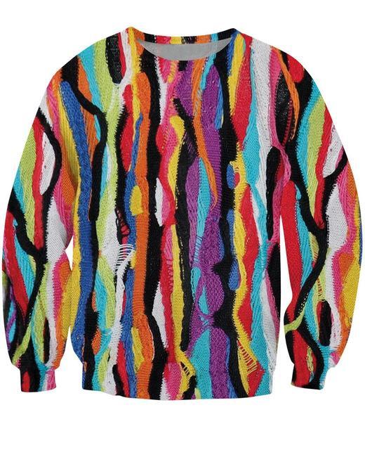 Wholesale- 그 Doe Crewneck 운동복 힙합 Biggie Smalls 아늑한 후드 다채로운 패션 의류 여성 남성 Sportwear 탑스 캐주얼 점퍼
