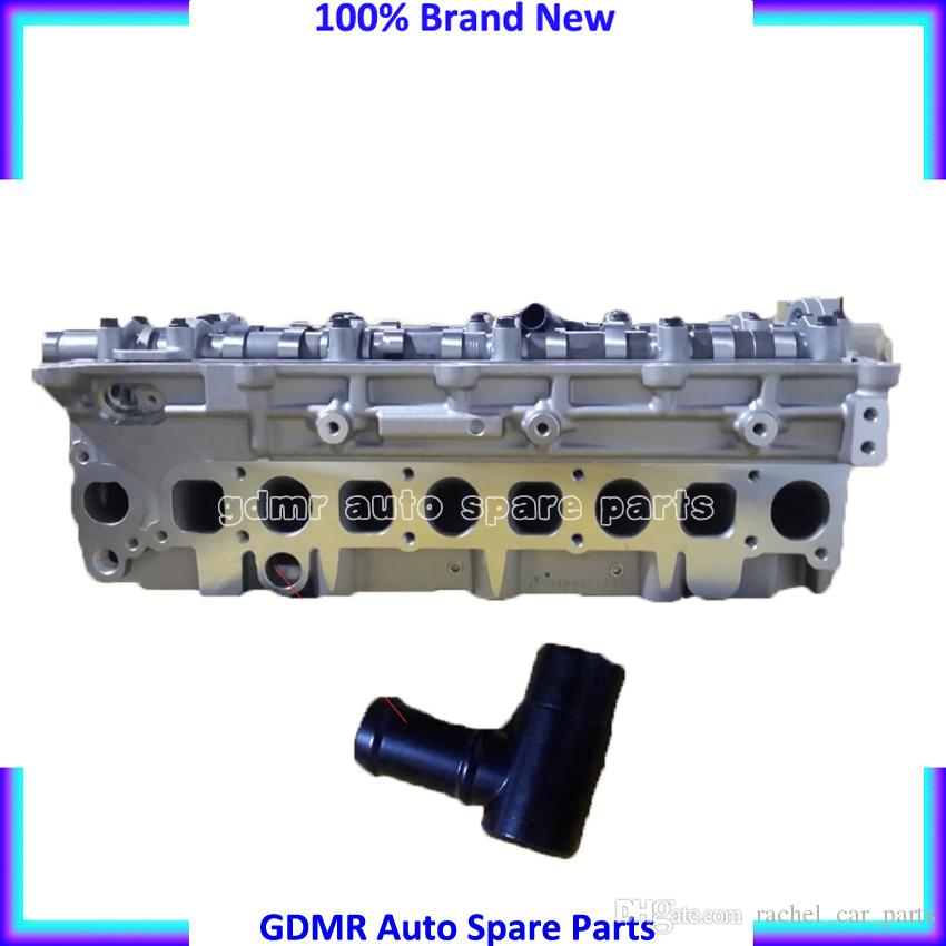 Motor parçaları 16V Komple silindir kapağı D4CB AMC 908 hyundai H1 H200 Starex Porter 2.5CRDI için 752 22100-4a210 22100-4a250 221004a210