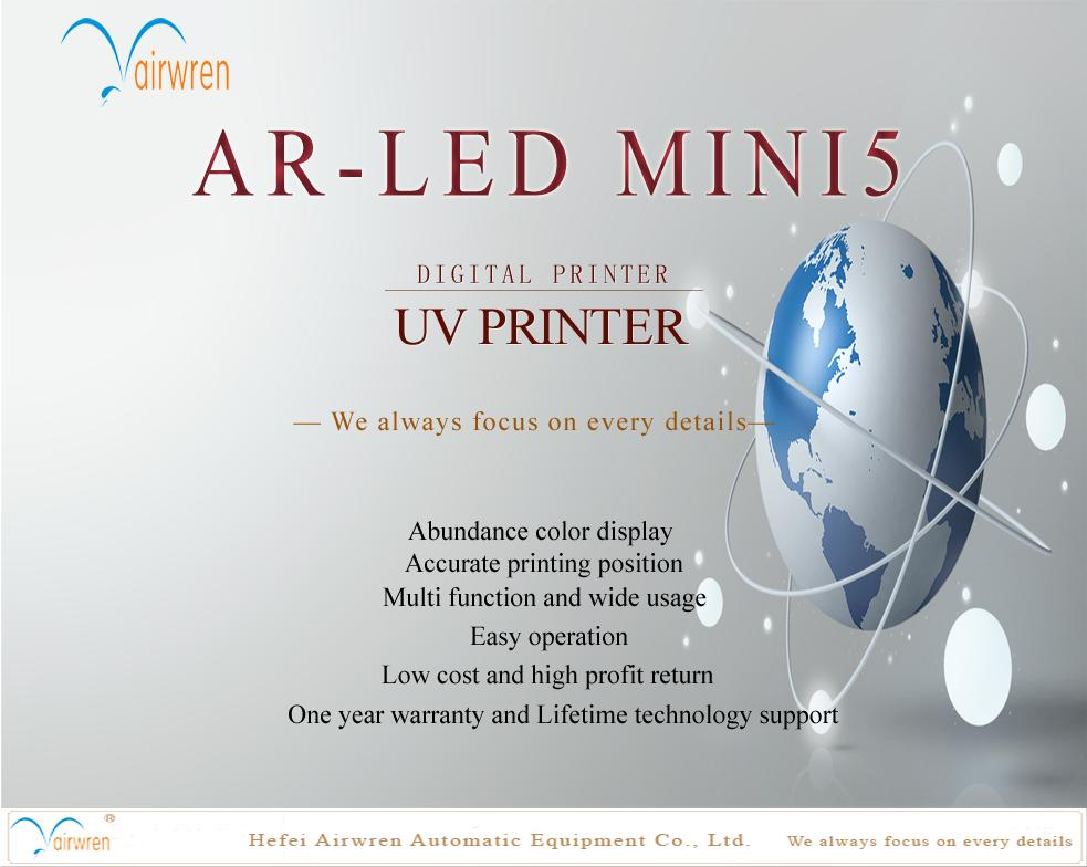 business card printing machine automatic digital UV Led flatbed ...