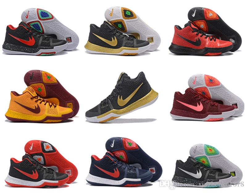 buy popular 8ce87 a1a5b closeout nike kyrie 3 all star de5fb 93dd9  reduced netherlands cheap cheap kyrie  3 mens basketball shoes kyrie irving 3 gold black tie bhm