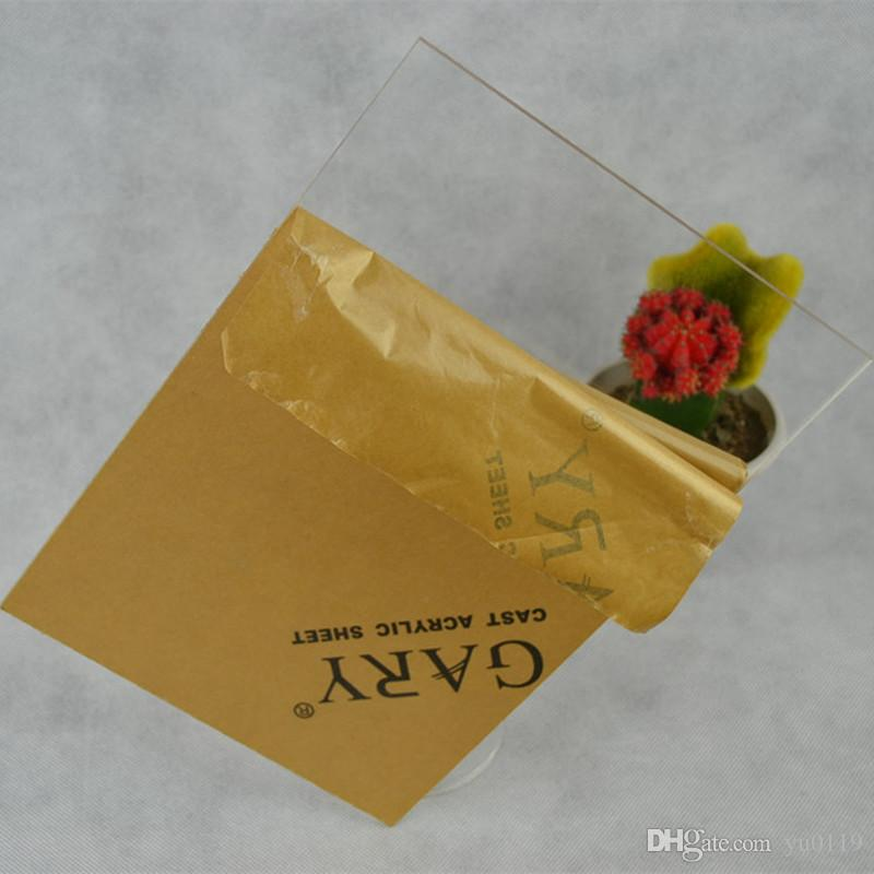 Acrylic Sheets Clear 250x250x1mm Plastic Transparent Business Card Plexiglass Photo Frame Perspex Can Cut Into Any Size