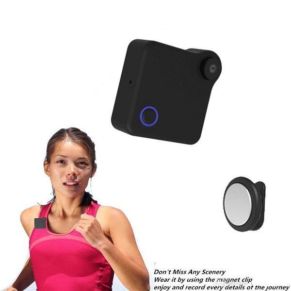 WIFI Mini IP camera HD 720P Clip Body camera wearable Sports DV cookycam Home security Nanny Cam Baby monitor Mini DV motion detection