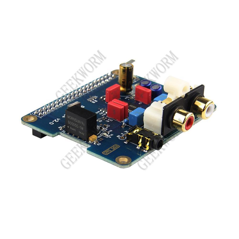 Scheda Audio Freeshipping I2S interfaccia PiFi DIGI DAC + HIFI DIGI digitale per Raspberry Pi 3 Modello B / 2B / B +, Raspberry Pi Dac +