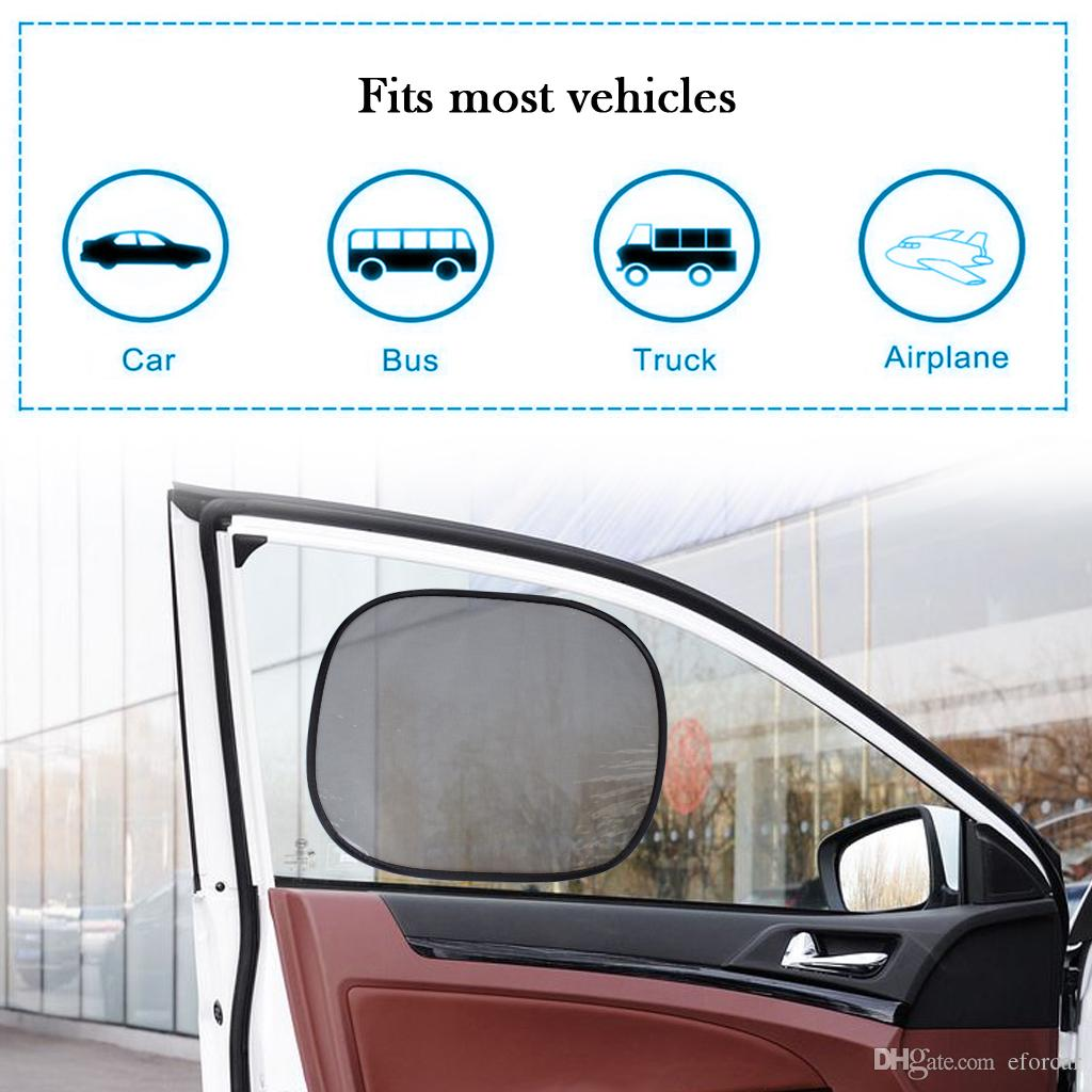Sunshades For Cars >> Static Cling Car Window Sunshades 17 X15 Block Uv Protector Cover For Maximum Uv Protection Via Express Window Sunshades For Cars Window Visors For