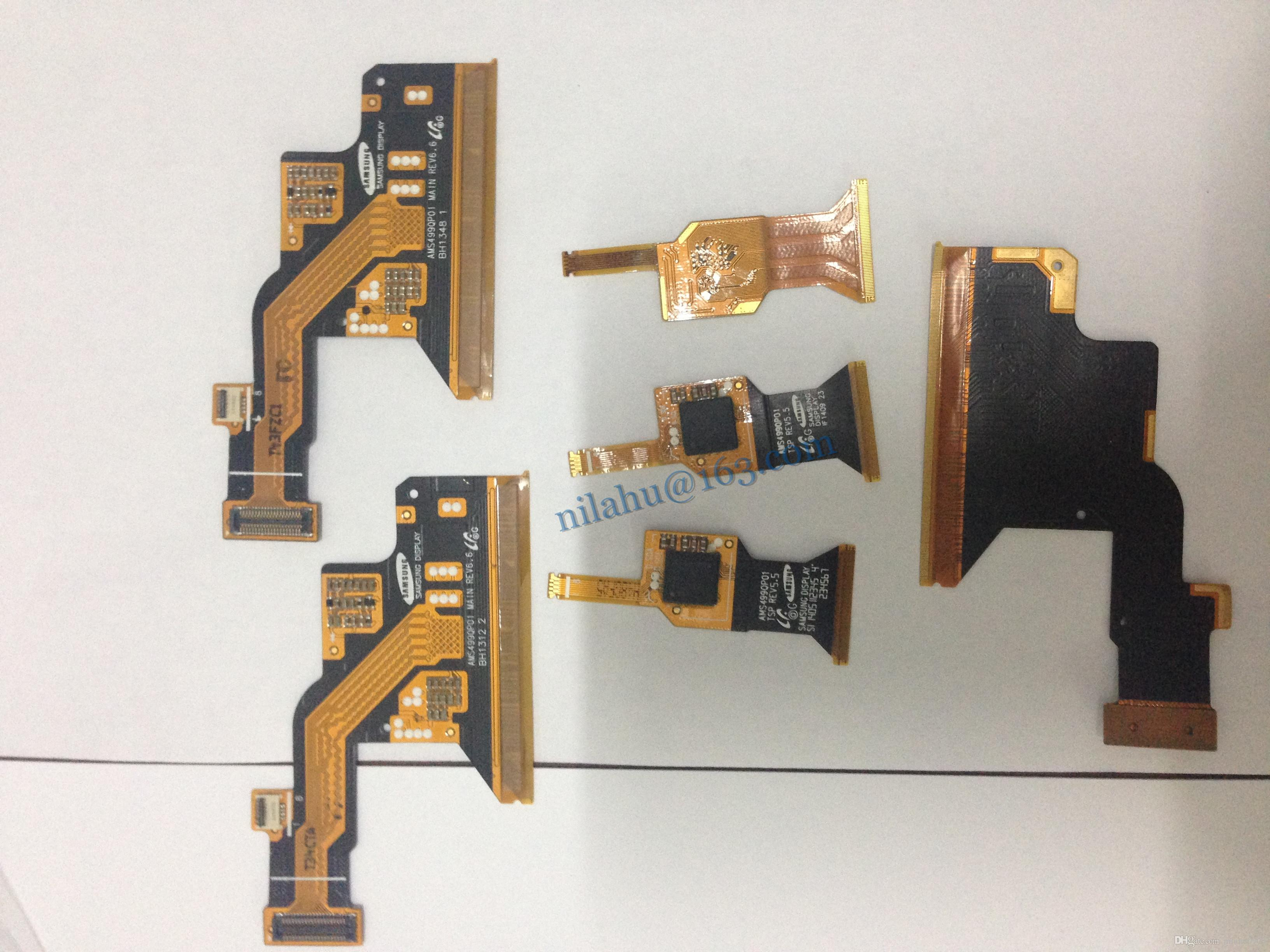 Free shipping for Samsung galaxy S4 I9500 LCD touch screen flex cable screen display FPCB flex cable in large stock
