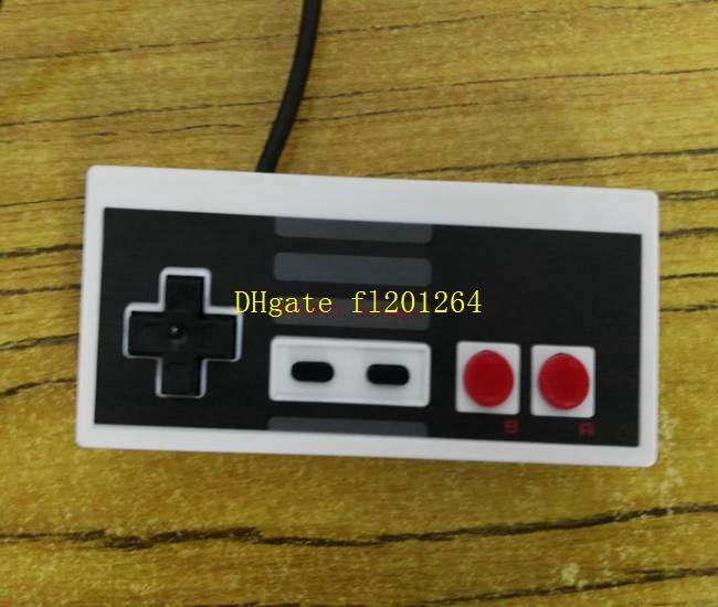 50pcs / lot Classique Contrôleur USB Gamer Gamer JoyStick Joypad Pour NES Windows PC pour MAC Contrôleur De Jeu Ordinateur Gamepad