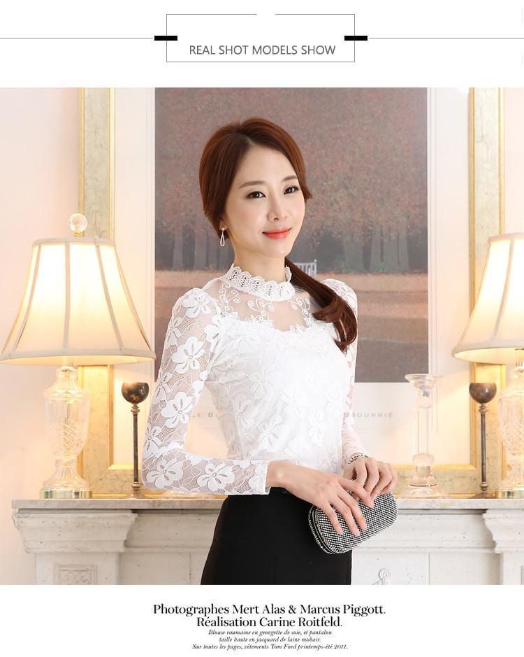 lace blouse 512