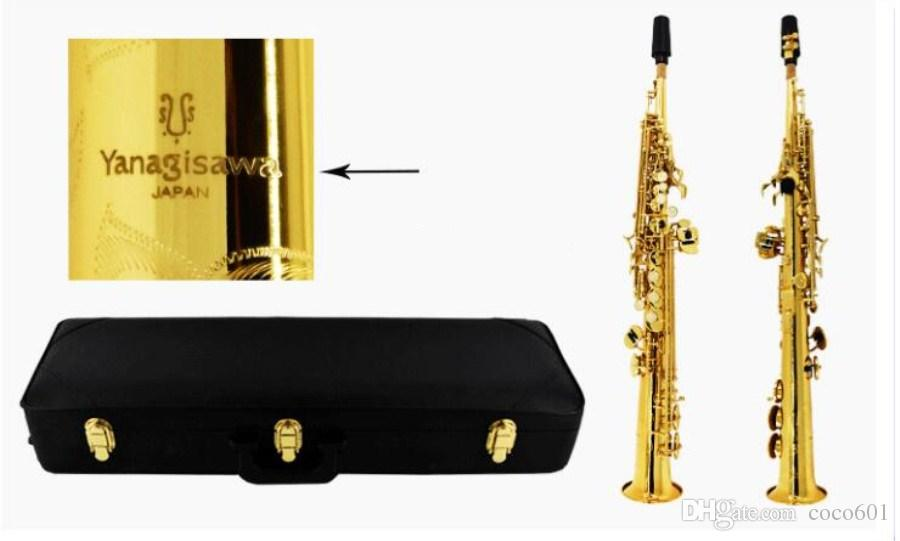 YANAGISAWA S-992 Sassofono soprano B piatto strumenti musicali sassofono suonare YANAGISAWA professionalmente Spedizione gratuita