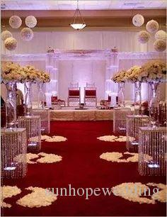 Akrilik standı sadece) çiçek akrilik vazo toptan şeffaf akrilik ucuz uzun düğün vazolar