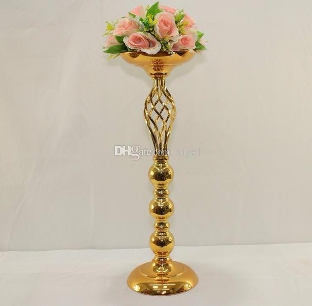 """61cm (24 """") Gold Hochzeitsmittelstück Hochzeitsblumenvase Hochzeitsdekoration"""
