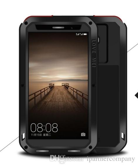 the latest 257e5 2bbb5 Phone Case Mate 9 Pro Love Mei Powerful Metal Case For Huawei Mate 9 Pro  Luxury Aluminum Dirt Life Waterproof Shockproof Cover Best Phone Cases Buy  ...