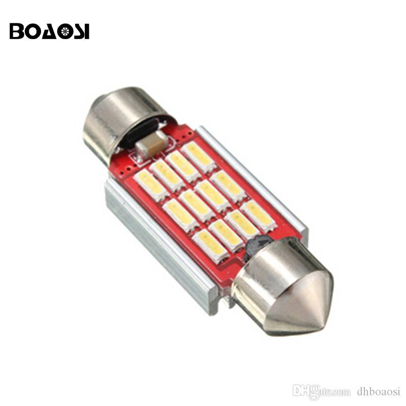 في canbus 36 ملليمتر 39 ملليمتر 41 ملليمتر 4014 smd 12 فولت السيارات الداخلية الخفيفة الخارجية لوحة ترخيص ضوء المصباح