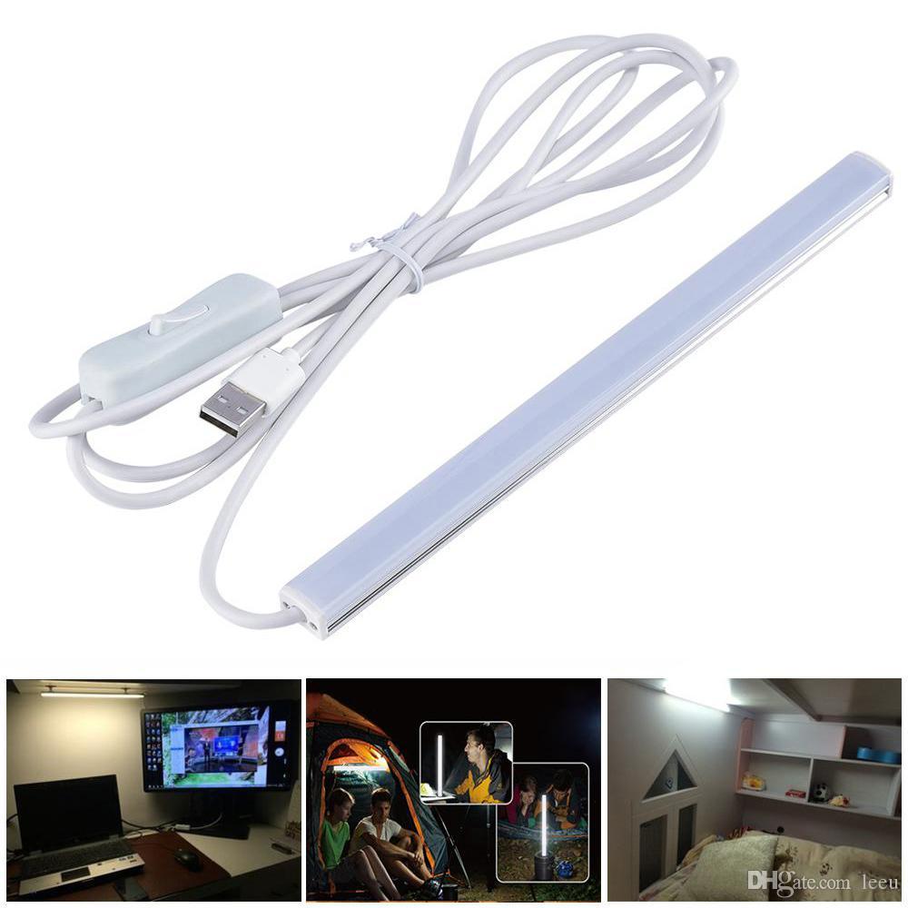 2017 SMD2835 5 فولت led قطاع usb led مكتب الجدول مصباح ضوء ل السرير دراسة كتاب القراءة مكتب العمل الأطفال ليلة ضوء led أنابيب