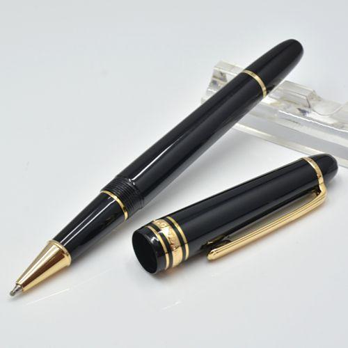 Stylo à bille à bille en résine de haute qualité 145 stylo à bille à rouleaux / stylo à rouleaux / stylo plume de la fontaine de bureau de bureau de la mode à billets d'écriture