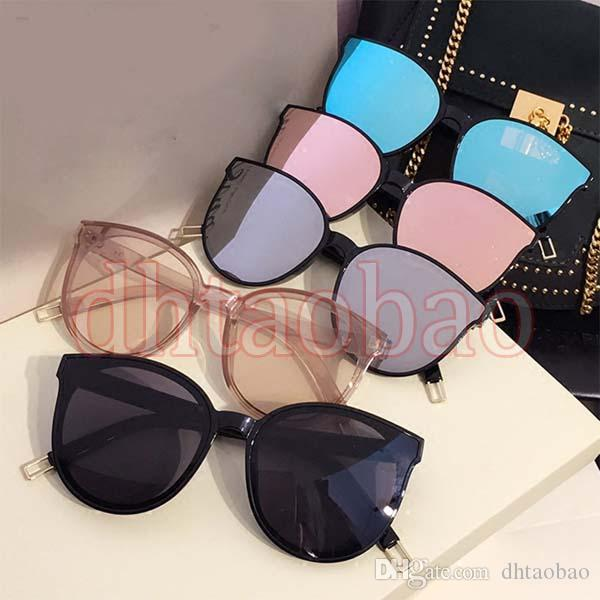 Moq=10pcs 2017 New Summer Women Fashion Vintage Cat Eye Exquisite Dazzling Sunglasses Driving Beach Ocean Glasses 10 Colors Free Shipping