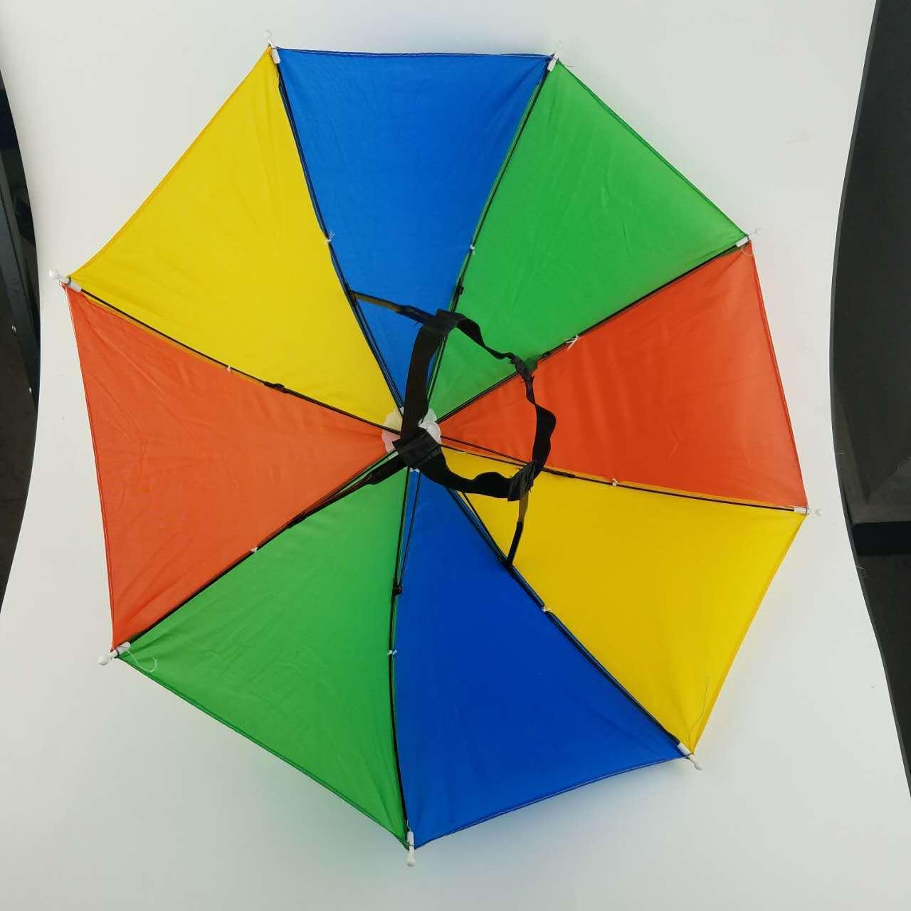 Spot Wholesal шляпу зонтик шляпа открытый путешествия солнцезащитный крем рыбалка детей арбуз радуга игрушка зонтик
