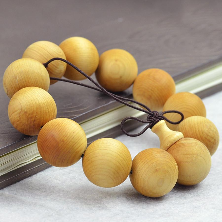 Mode Bouddha Perles Authentique Cliff Cedar Bois Bracelet Pour Femmes Ou Hommes Mode Bijoux Bracelets