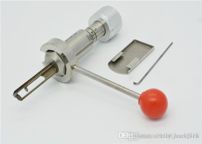 Heißer verkauf bauschlosserwerkzeuge sperrenöffner mul-t-lock (5 pin) 2 in 1 schloss werkzeug (rechts)