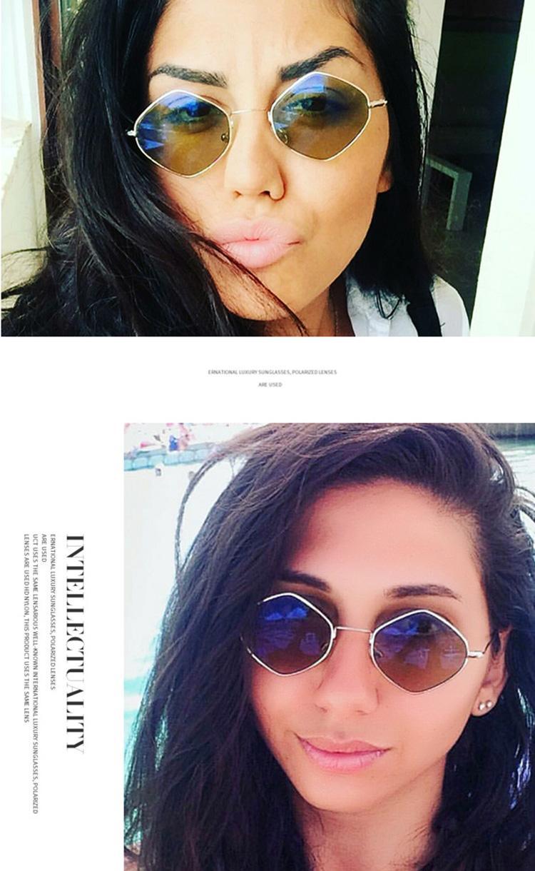 Acheter Lady Designer Retro Lunettes De Soleil Jaune Pour Femme Et Homme De Mode Chine Pas Cher Plage Lunettes De Soleil Modèle Or Qualité En Gros