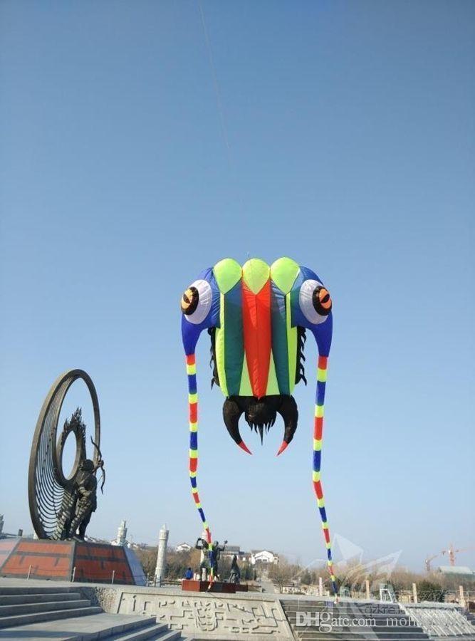 3D 10.5 M 1 ligne Stunt Parafoil trilobites Power Sport Cerf-volant extérieur jouet