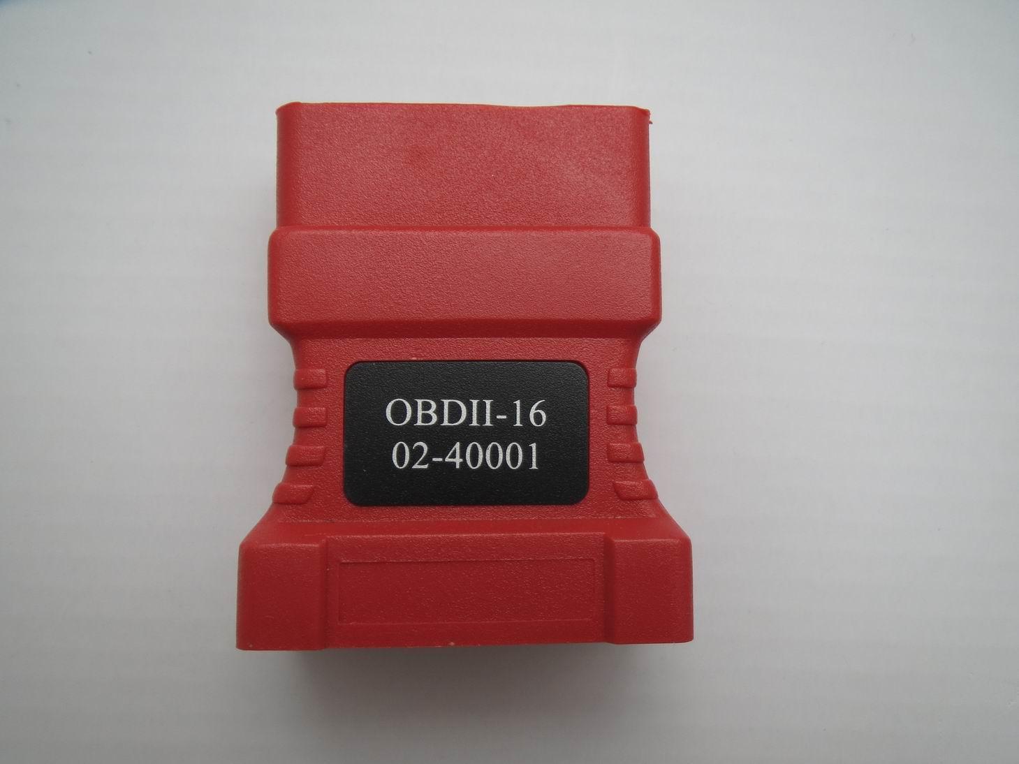 ADS-1 için O BDII-16 Bağlayıcı 02-40001 OBD-II adaptörü OBDII Obd2 Adaptörü OBD2 Connecter OBDII Ücretsiz Kargo