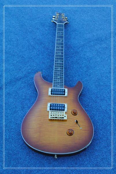Специальный зазор китайская гитара электрогитара (100% так же, как фотографии) черное дерево прямая бесплатная доставка