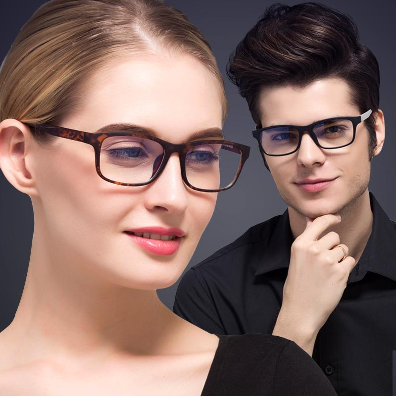 Wholesale- KATELUO Brand TR90 Anti Computer Blue Laser Fatigue Radiation-resistant Eyeglasses Goggles Glasses Frame Oculos de grau 9219