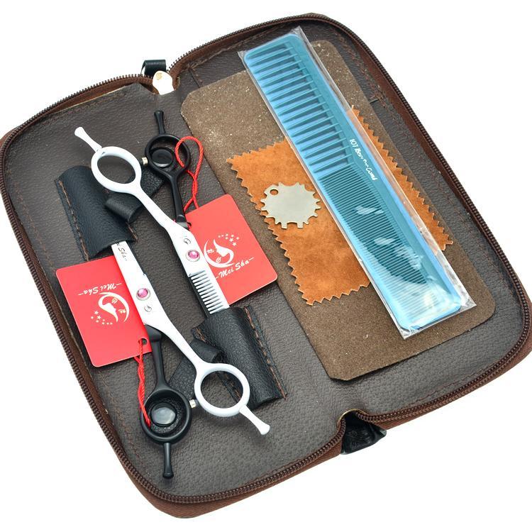 5.5 pollici Meisha JP440C acciaio inox forbici da taglio diradamento forbici parrucchiere cesoie barbiere forbici styling strumento, HA0161