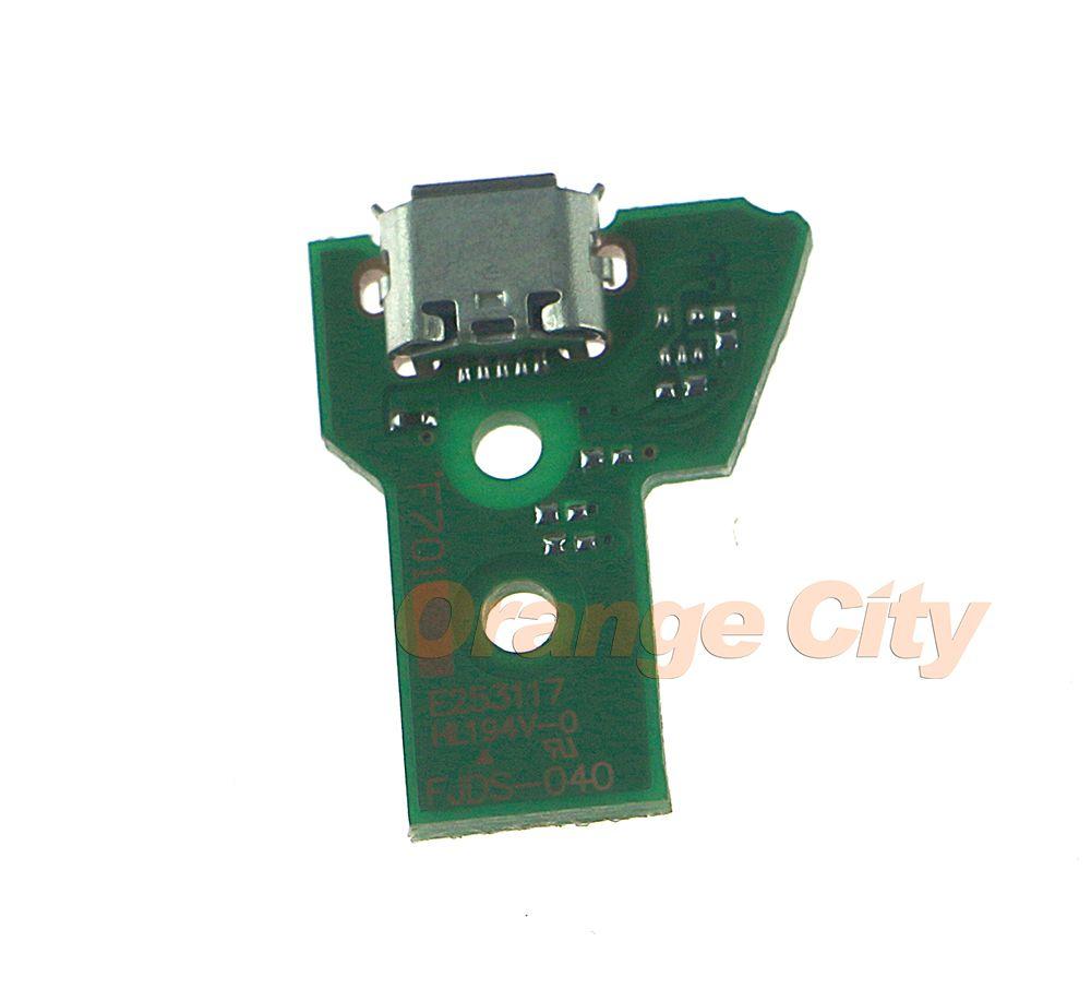 Pièces de réparation de remplacement de carte de chargeur de prise de charge d'USB pour le contrôleur PS4 JDS-040 JDS040