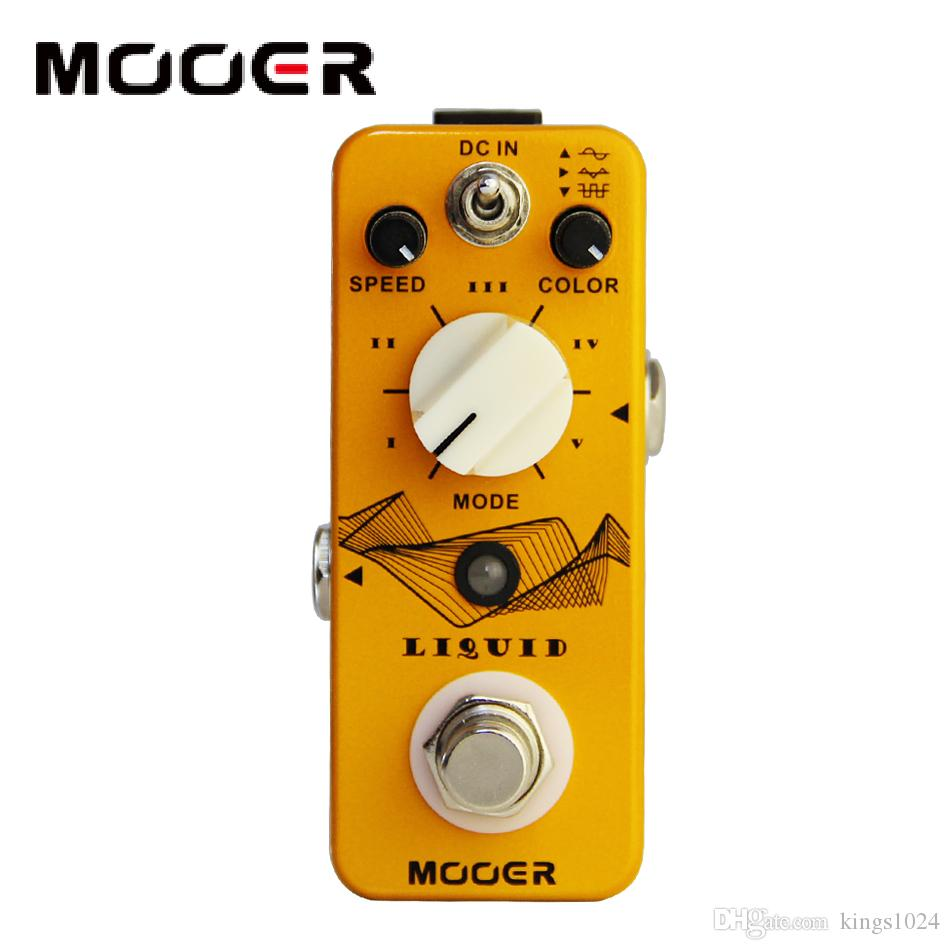 MOOER Liquid Digital Phaser Guitar Pedal with 5 Different Phase Effect Types Guitar effect pedal