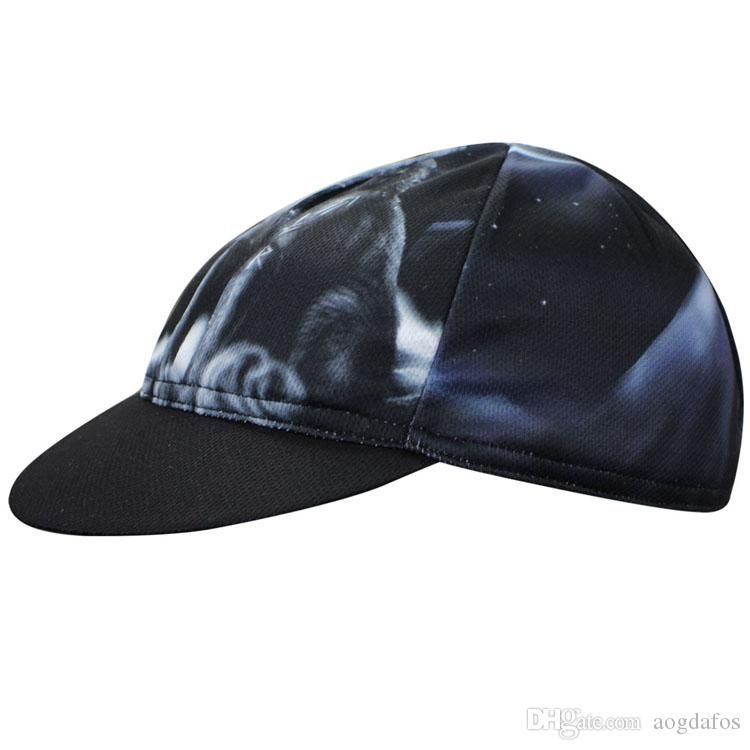Wholesale 2017 AOGDA Howlin Wolf Cycling Hat Bicycle Riding Hat Men Women Summer Quick Dry And Breathable Mountain Bike Cap