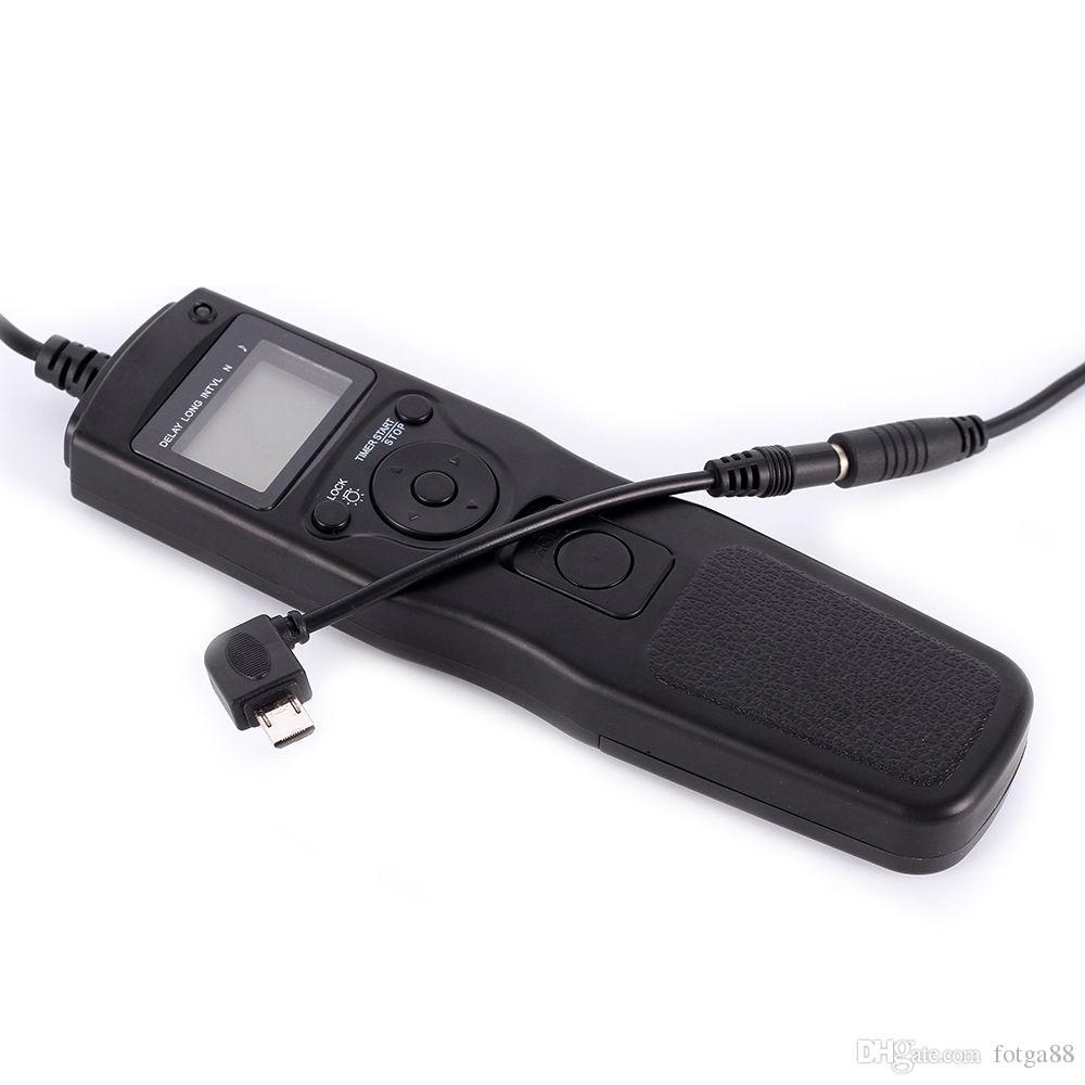 S2 Cable Remoto Temporizador extraíble Fr Sony A7 A7R A7II A7s NEX3N A6300 A6000 RX100
