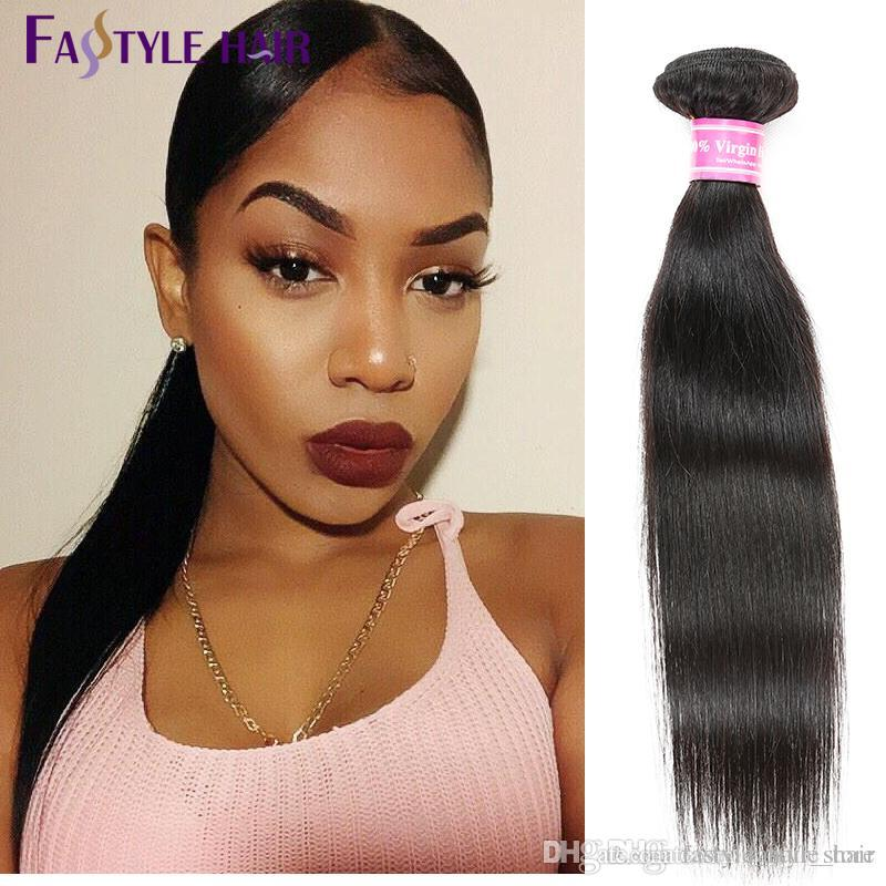 Wholesale CHEAP! Malaysian Straight Hair Extensions Unprocessed Brazilian Peruvian Indian Virgin Human Hair Bundles Factory Price Dyeable