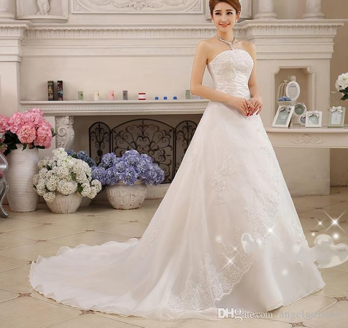 Beach Wedding Dress China Bridal Gowns Vintage Wedding Dress Real ...
