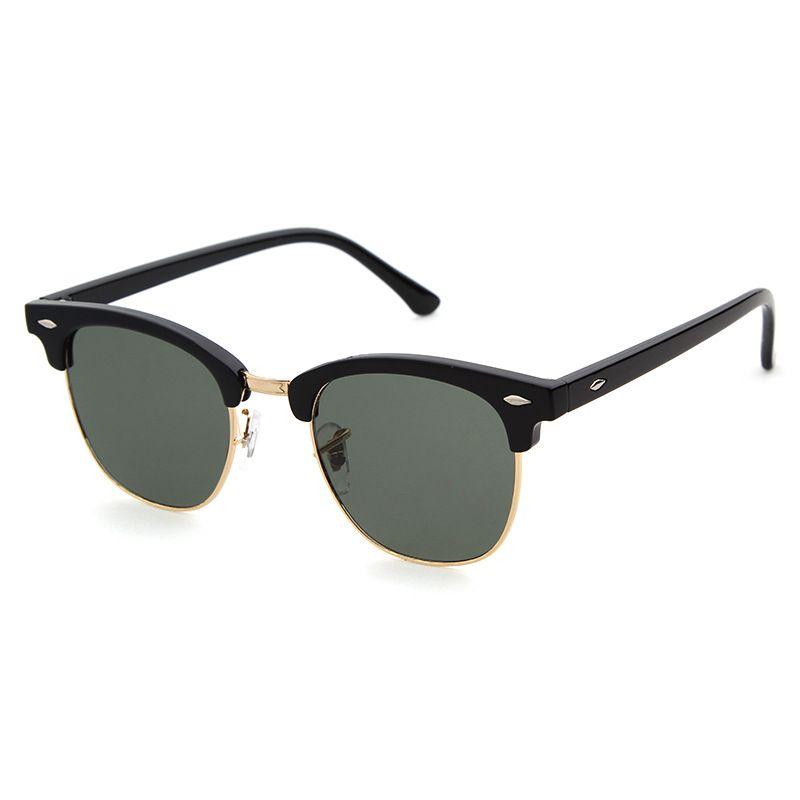 50 قطع الترقيات مصمم العلامة التجارية عالية الجودة النظارات المعدنية المفصلي النظارات الرجال النظارات النساء نظارات شمس uv400 التصميم النظارات الشمسية