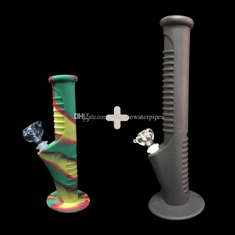 5DHL Свободной перевозка груз 2017 Colorfuls нового набор силиконовых Труб Мини воды и силиконовые Водопроводные трубы стеклянных бонги стеклянных трубы воды затяжки