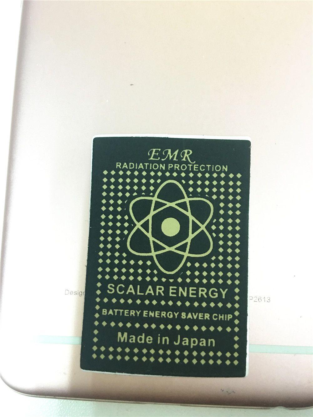 Avanço Tecnologia Chip de Poupança de Energia Anti Radiação Etiqueta EMR Adesivo Bio Energia EMF Escudo Anti Radiação Adesivo