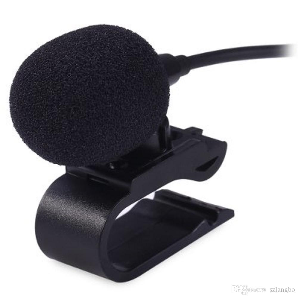 3.5mm Inerface External Microphone Mic for Car DVD Radio Laptop Stereo Player HeadUnit Cable 3m