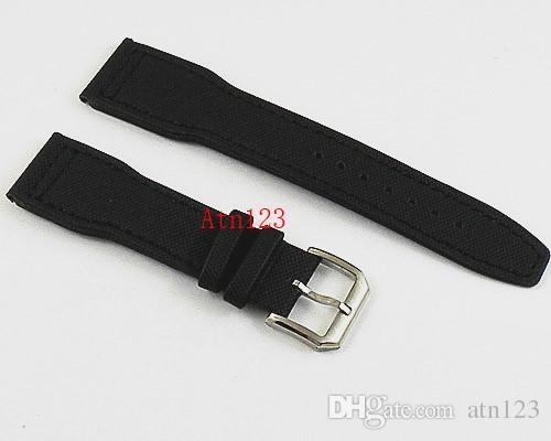 22 мм ткань / Холст ремешок для часов ремешки для часов с пряжкой из нержавеющей стали ремешки для часов для мужчин Мужские ремешки замена P105