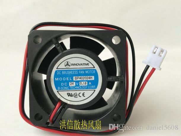 Ventilateur inverseur à deux fils d'origine BP402024H DC24V 0.18A 40 * 40 * 20MM