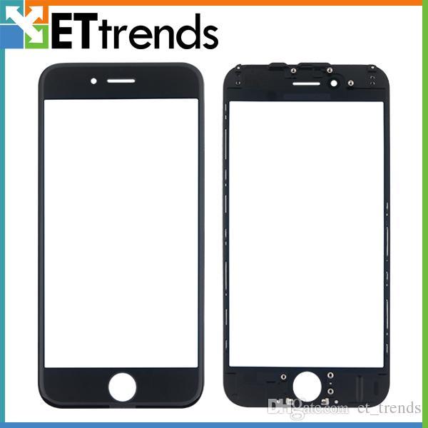 Qualitäts-Außenglas mit Rahmen für iPhone 6 Frontglas-Linse Glaslinse mit Rahmen Kaltpressung Freies Verschiffen durch DHL AB0092