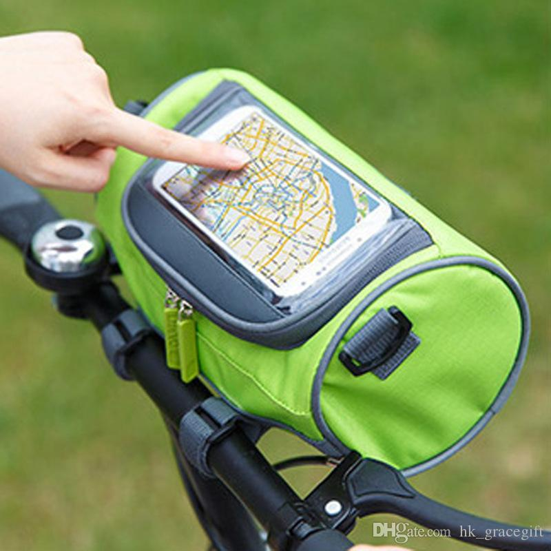 أكسفورد القماش الرياضة في الهواء الطلق ركوب أكياس الدراجة البصرية حزمة ماء تخزين حقائب اليد