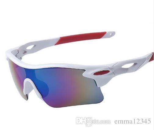2019 novos esportes ao ar livre óculos de sol moda esporte óculos para ciclismo escalada correndo pesca golf eyewear 100% uv400