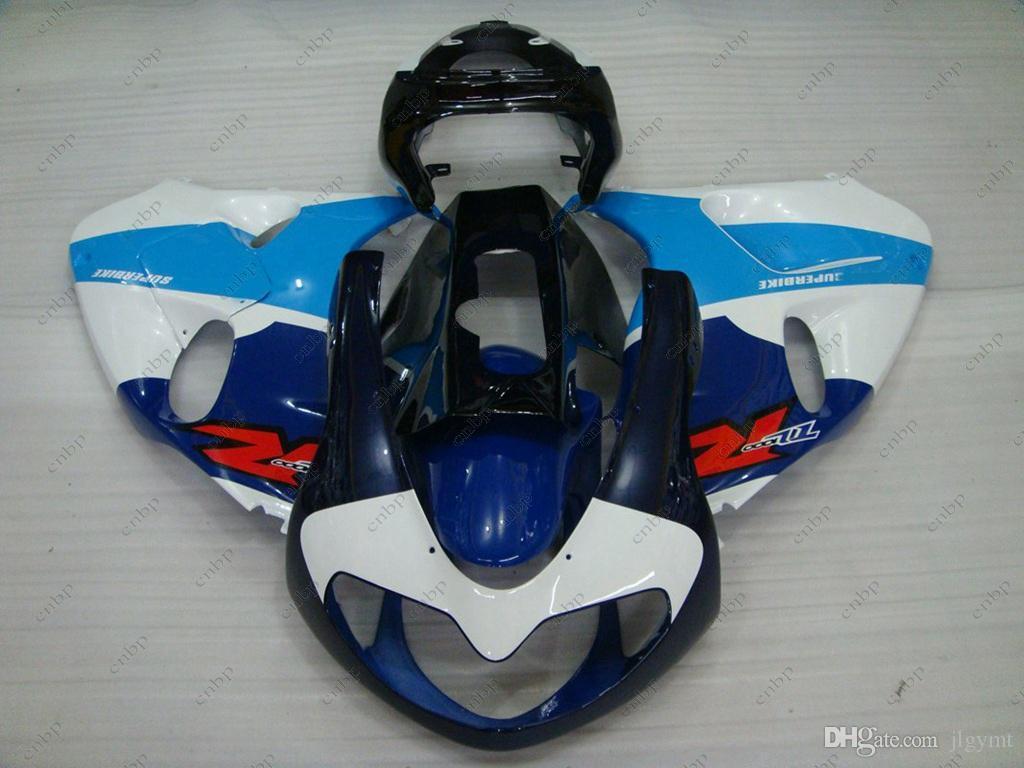 Plastic Fairings TL1000R 2002 Lataria para SUZUKI TL1000R 1998 Azul Branco Preto Kits Corporais TL 1000R 99 01 1998 - 2002