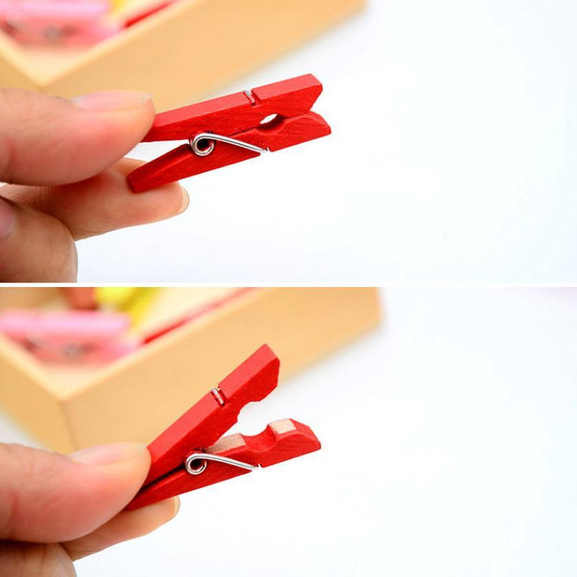 Mosunx-Business-50PCS-Color-Wood-Clothespin-Clips-Note-Pegs-Mixed-For-Photo-Paper-Clothes (3)