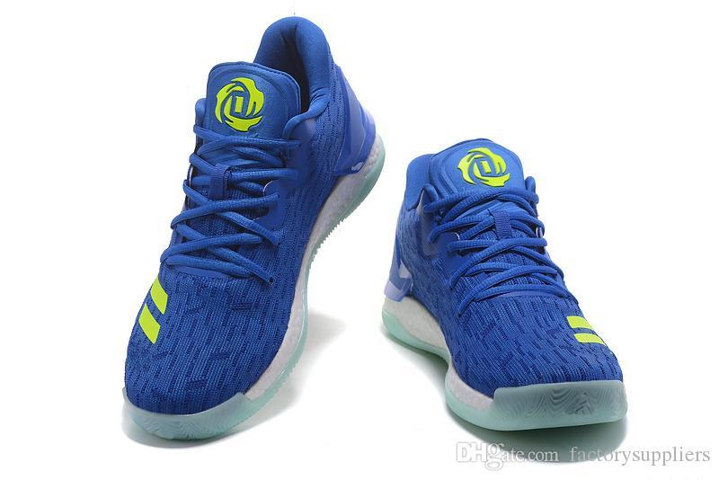 d rose blue shoes